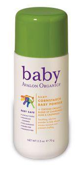 Avalon Organics Silky Cornstarch Baby Powder