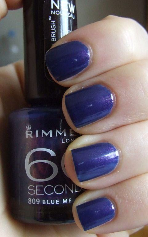 Rimmel 60 Seconds Nail Polish reviews, photos - Makeupalley