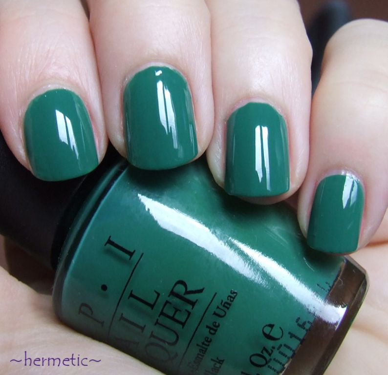 OPI Jade is the New Black reviews, photos - Makeupalley