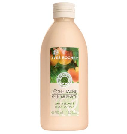 Yves Rocher Yellow Peach Silky Body Lotion