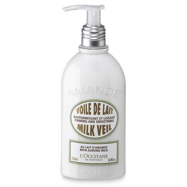 L'Occitane Amande Voile de lait firming and smoothing body lotion