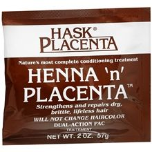 Hask  Henna n' Placenta Conditioning Treatment