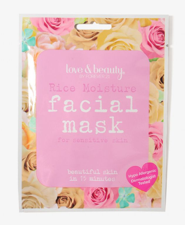 Love & Beauty Rice Moisture Facial Mask