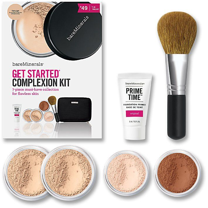 Bareminerals Get Started Complexion Kit Fairly Light Or