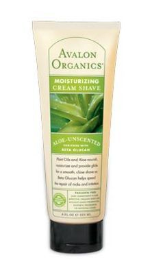 Avalon Organics Moisturing Creme Shave in Aloe Unscented
