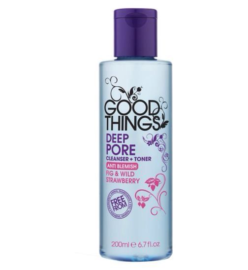 good things cleanser