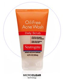Neutrogena Oil-Free Acne Wash Daily Scrub