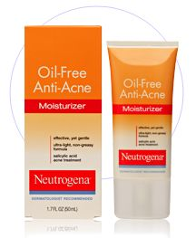 Neutrogena Oil Free Anti Acne Moisturizer Reviews Photo