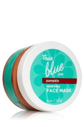Bath and Body Works pumpkin mask