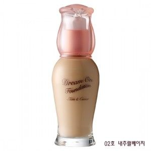 Etude House Dream On Foundation Slim and Cover