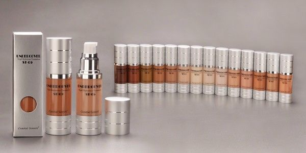 Coastal Scents Undercover HD Foundation