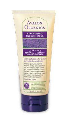 Avalon Organics Lavender Enzyme Scrub