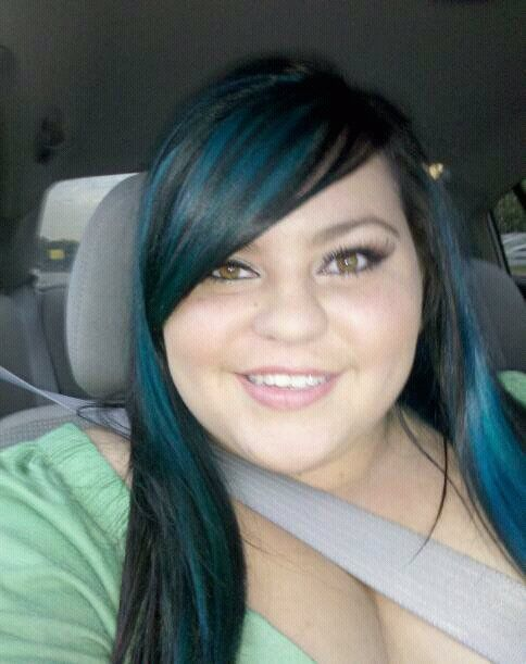 jerome russell punky colour venus with venus blue hair - Punky Color