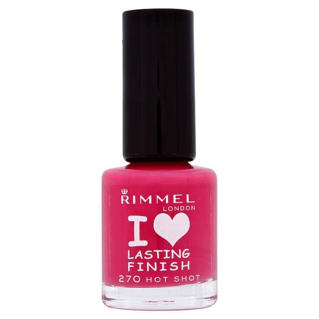 Rimmel Lasting Finish Nail Polish (All)