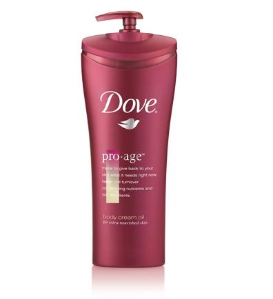 Dove Pro-Age Body Cream Oil