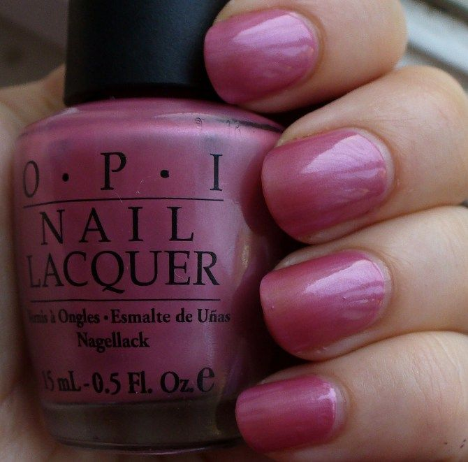 Opi Not So Bora Ing Pink