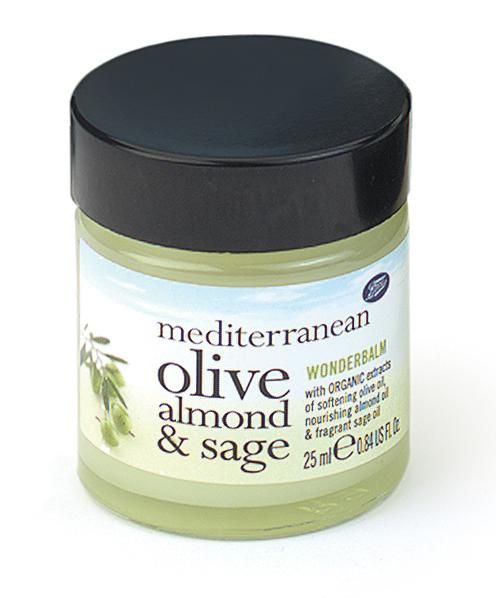 Boots  Mediterranean Olive, Sage and Almond Wonderbalm