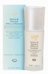 Boots  No7 Refine & Rewind serum
