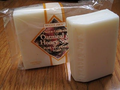 Trader Joe's Oatmeal and Honey Soap