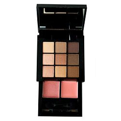 NYX Professional Makeup Nude on Nude Natural Look Kit (9 eyeshadow + 2 lip)
