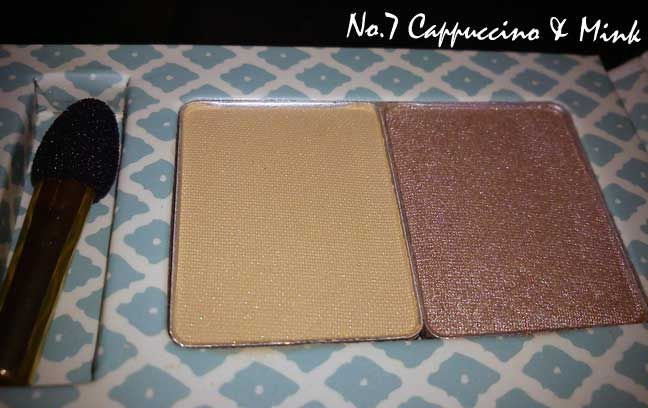 Boots  Natural Collection Eyeshadow Duo in Mink and Sable