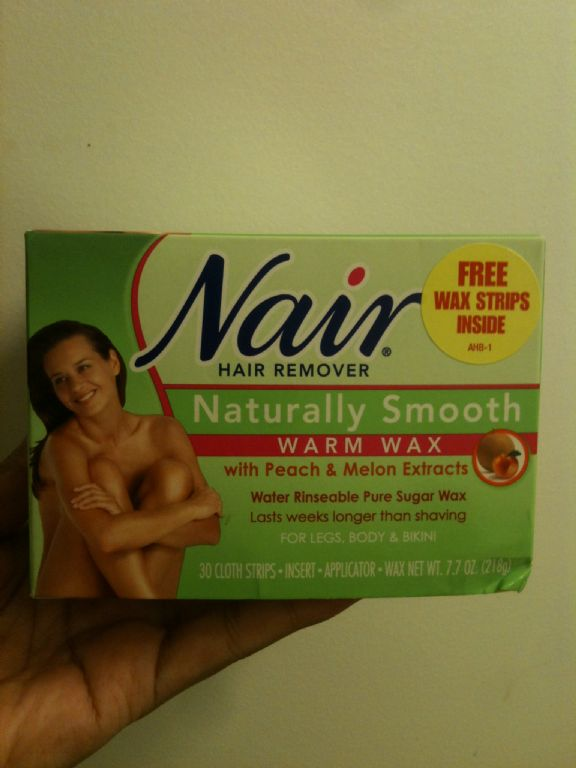 Nair Naturally Smooth Warm Wax