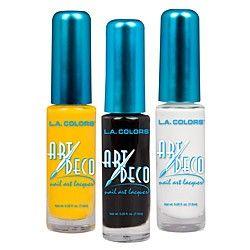Art Deco Nail Colors