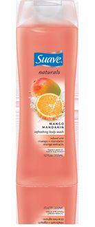 Suave Naturals Body Wash-Mango Mandarin