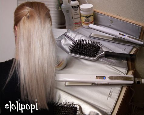 Conair Infiniti Nano Silver Tourmaline Flat Iron (Uploaded by lolipopi)