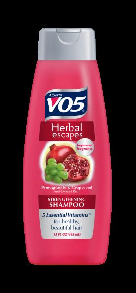 Alberto Vo5 Herbal Escapes - Pomegranate & Grapeseed Extract