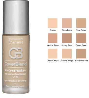 exuviance foundation true beige