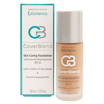 Exuviance CoverBlend Skin Caring Foundation SPF 15