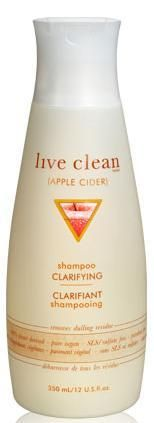 Live Clean (Apple Cider) Clarifying Shampoo
