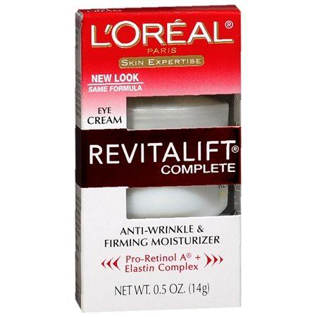 L'Oreal Paris Revitalift Complete Eye Cream reviews, photo, ingredients - Makeupalley