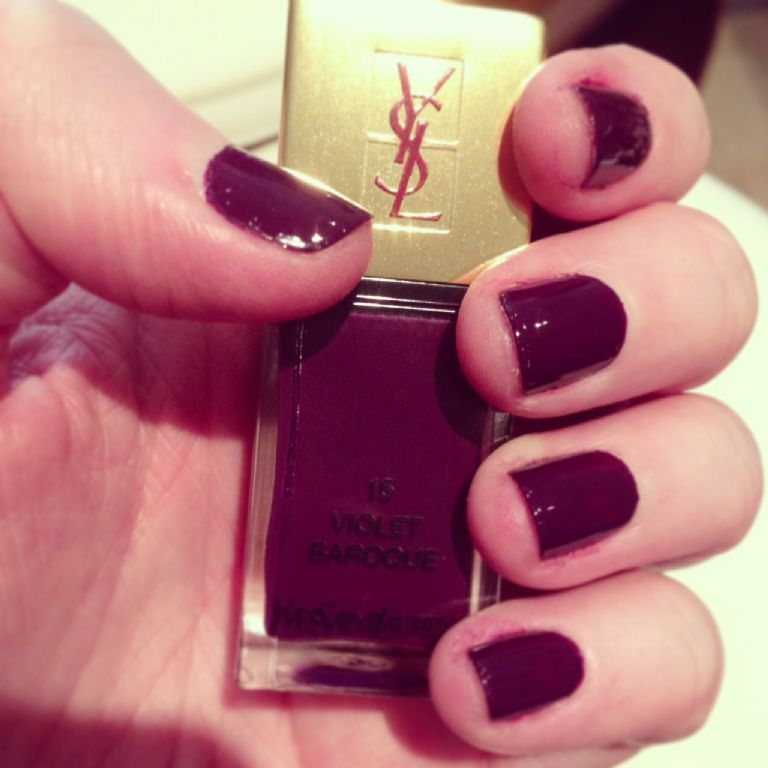 Yves Saint Laurent Violet Baroque