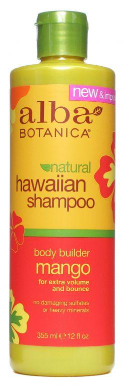 Alba Botanica Body Builder Mango Shampoo