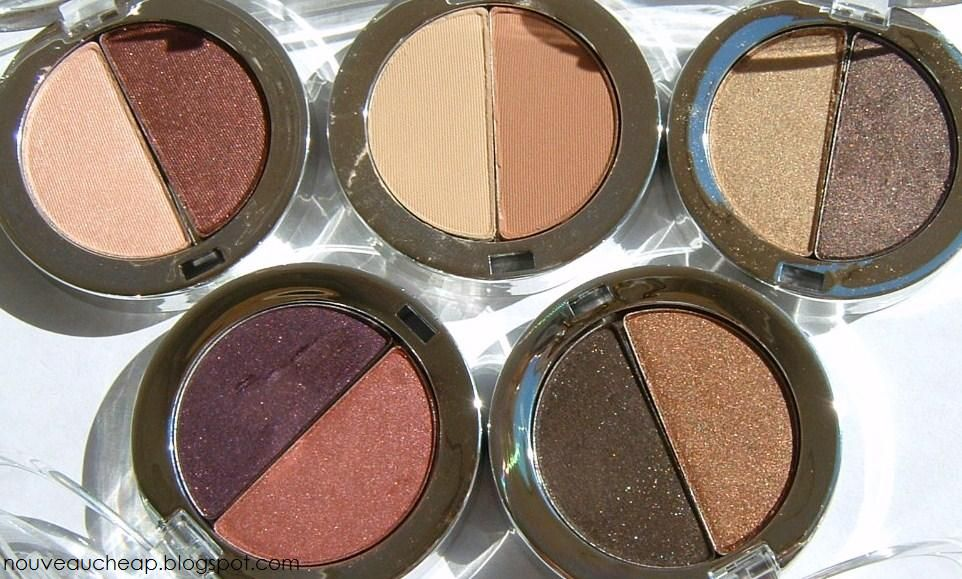 Jordana Color Effects Powder Eyeshadow Duo