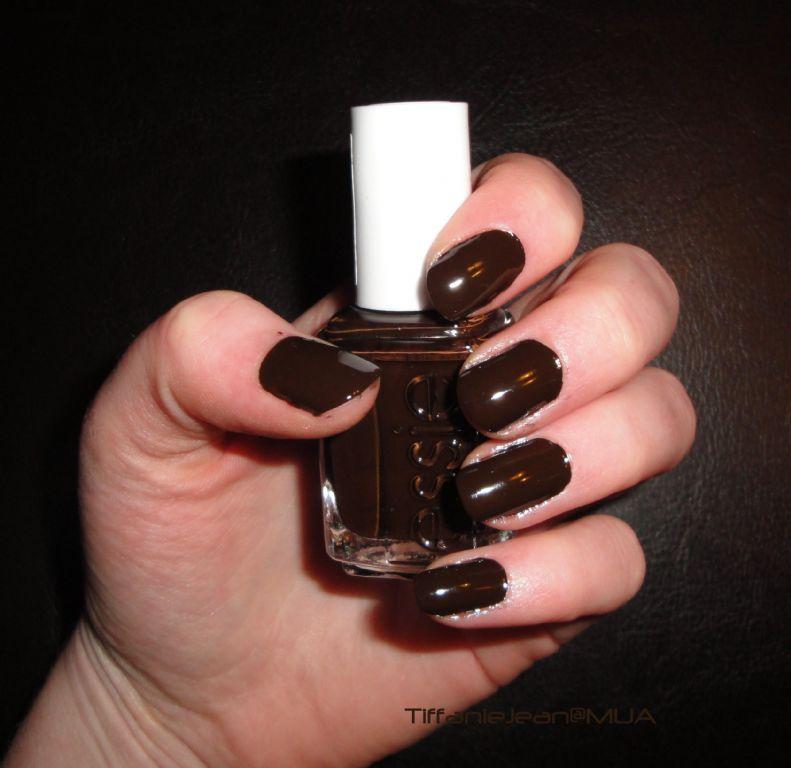 Essie little brown dress