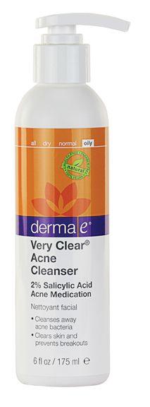 Derma E Very Clear Acne Cleanser