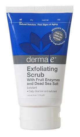 Fruit enzyme facial scrub