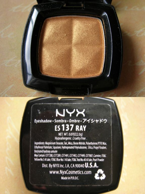 Professional Eye Coloration Actions: NYX Professional Makeup Single Eye Shadow
