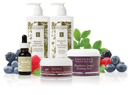 eminence facial products