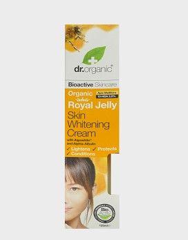 dr organic royal jelly skin whitening cream