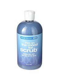 Bath & Body Works True Blue Spa I'm in the Mood for Scrub