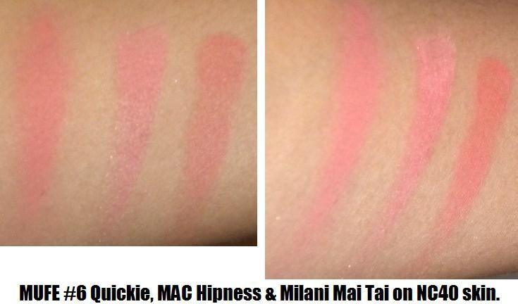 Make Up For Ever HD Microfinish Cream Blush - #6 Quickie