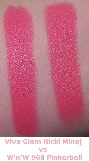 ... Last Lip Color in Pinkerbell Viva Glam Nicki Minaj vs W'n'W Pinkerbell