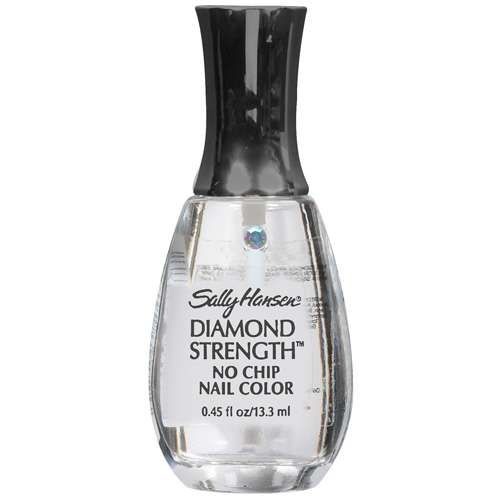 No Chip Nail Polish Reviews: Sally Hansen Diamond Strength Nail Strengthener (Clear