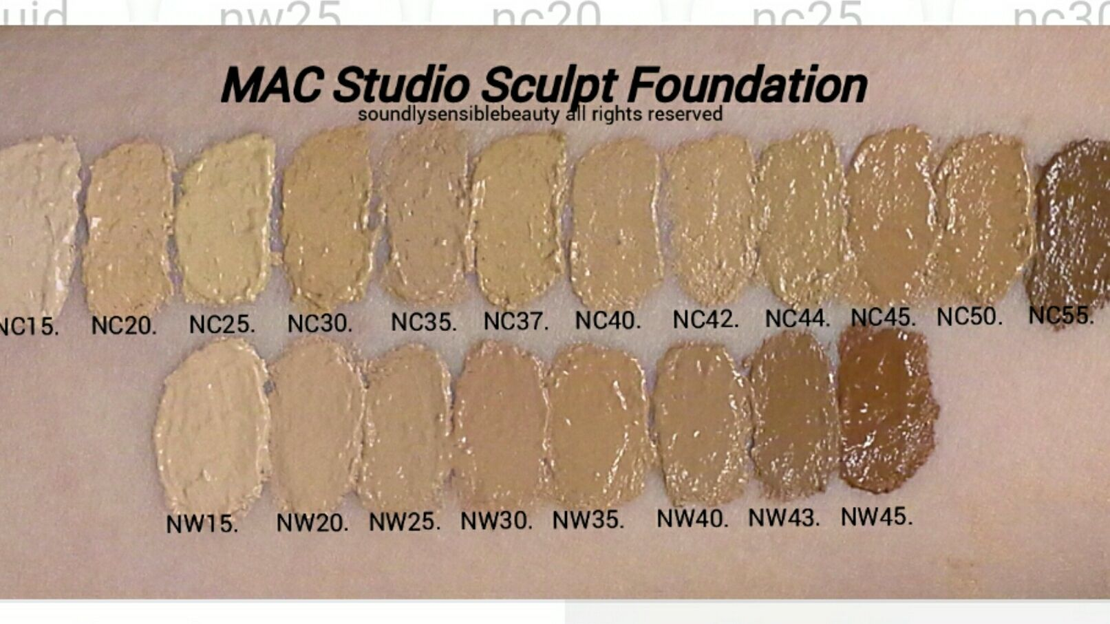 Mac Cosmetics Studio Sculpt Spf 15 Foundation Reviews Photos Ingredients Makeupalley