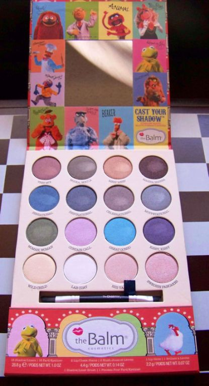 TheBalm The Muppets Cast Your Shadow Palette