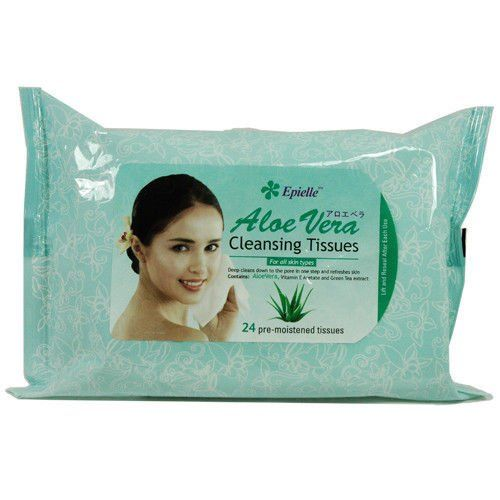 Epielle Aloe Vera Cleansing Tissues